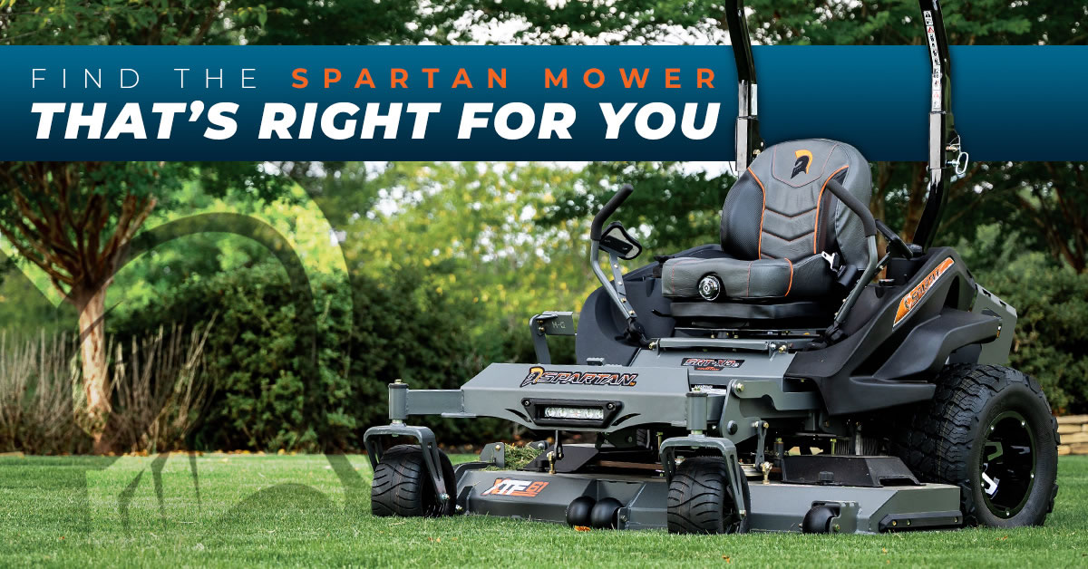 Find the Spartan Mower That's Right For You